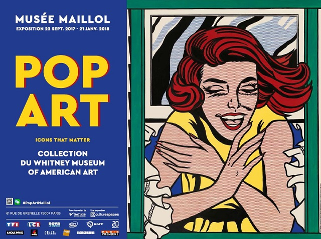 Exposition Musee Maillol Pop Art - Hotel Jardin Le Brea 3 etoiles superieures
